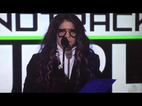 Prince wins Top Soundtrack w/PurpleRain at the 2016 American Music Awards