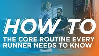 How to Do a Daily Core Routine for Running
