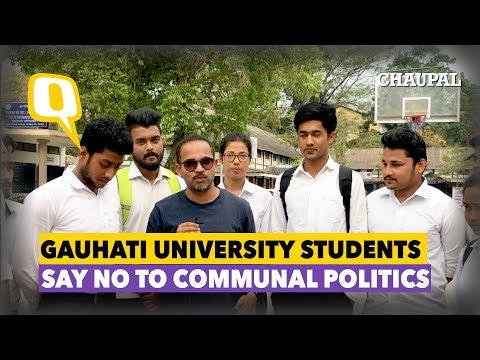 Election Chaupal: Students of Assam Say No to Communal Politics | The Quint