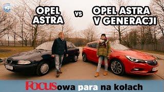 OPEL ASTRA vs OPEL ASTRA V GENERACJI