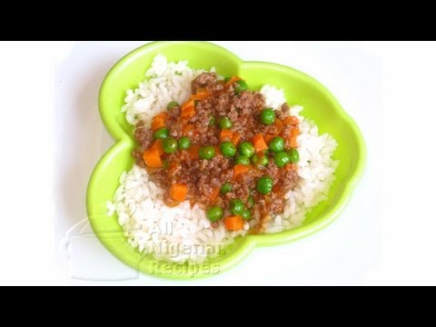 Beef & Vegetable Stew (Kids Recipes) | All Nigerian Recipes