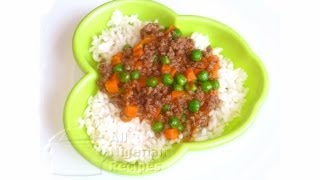Beef & Vegetable Stew (Kids recipes)