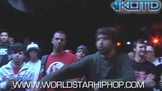KOTD - Rap Battle - HFK vs Jack Shitt