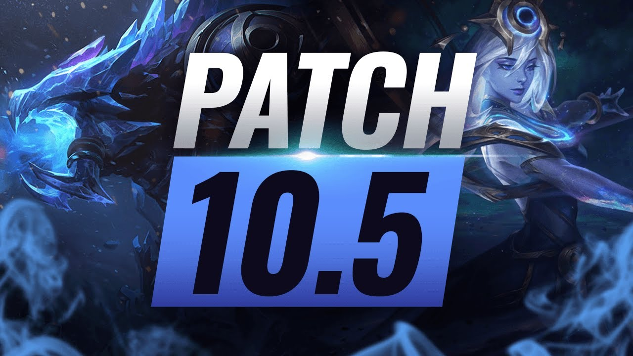 Best Champions TIER List – League of Legends Patch 10.5 thumbnail