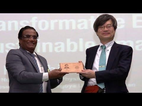Nobel Laureate Prof. Hiroshi Amano Live at University of Hyderabad