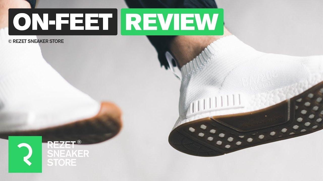 ON FEET Review: Best Fake NMD CS1 PK Gum Bottom