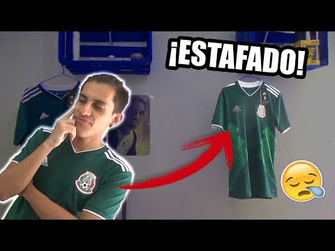 49a71fdc97d Fake CHICHARITO 2018 MEXICO World Cup jersey unboxing ⚽🔥 Home kit ...