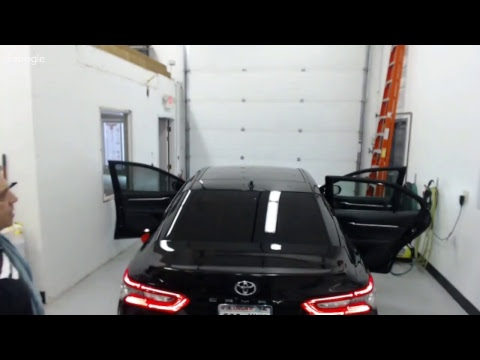 2018 Camry live window tinting