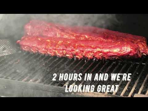 How to smoke baby back ribs on a Traeger Grill | QUICK and EASY