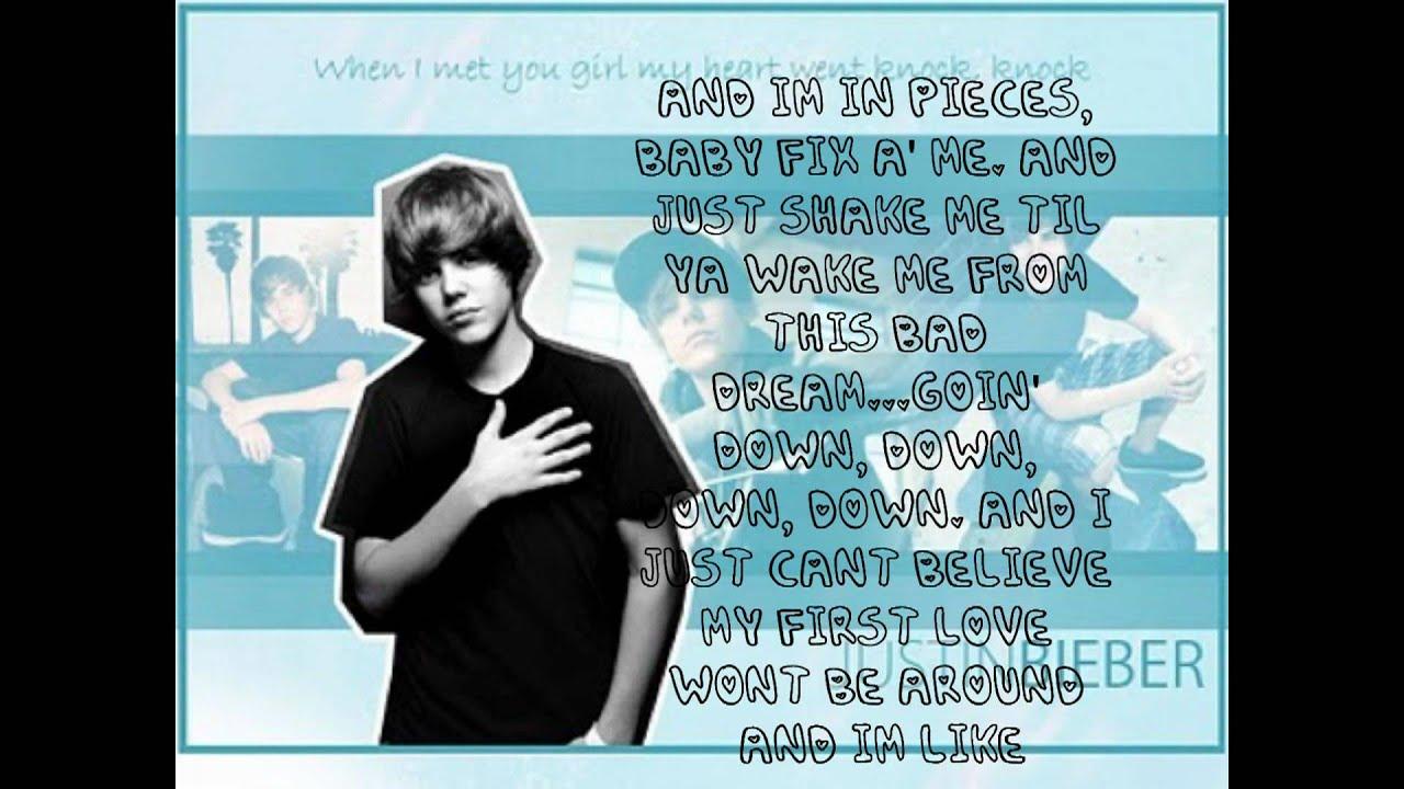 Baby-Justin Bieber-Lyrics - YouTube