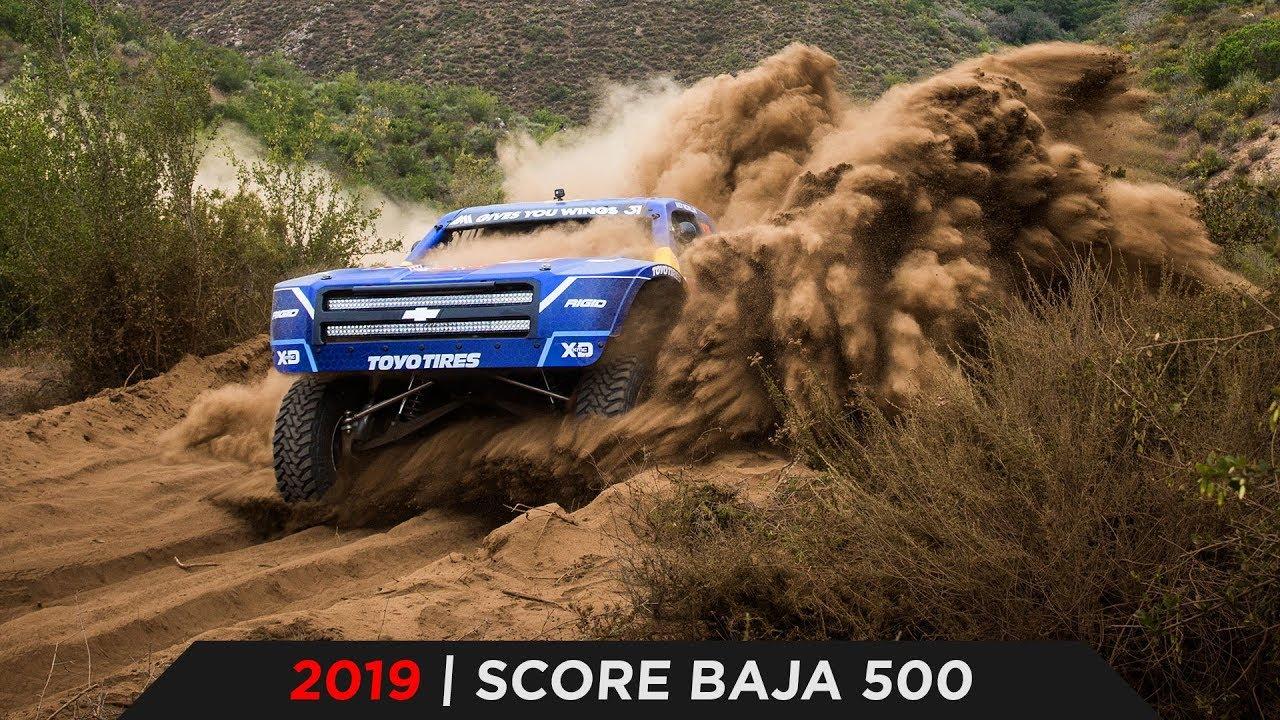 2019 SCORE BAJA 500 | TOYO TIRES [4K]
