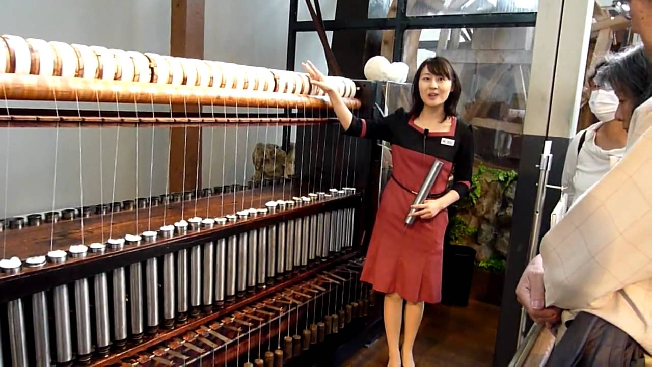 Toyoda Automatic Loom Works machine at the Toyota Museum in Nagoya, Japan