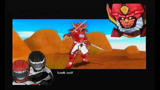Power Rangers: Super Legends (Playstation 2) - opening and gameplay, first level (no commentary)