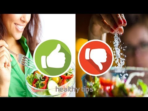 Eat Well Do's and Don'ts to manage Bloodstream Pressure