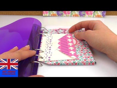 DIY Quick Folder Tips | Tutorial : 2 Minutes Idea For Filofax | Super Fast Ideas For Creative Ordner