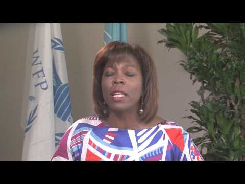 Ertharin Cousin, WFP Executive Director, speaks to PAA Africa participants