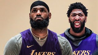 Lakers first practice in Orlando, LBJ, Kuz, AD   NBA bubble in Orlando