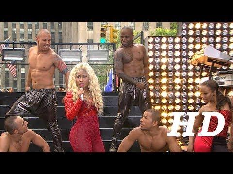 "Nicki Minaj ""Starships"" Live from ""Today Show"" 2012"