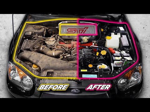Dirty Engine Detail TRANSFORMATION | Neglected For YEARS!!