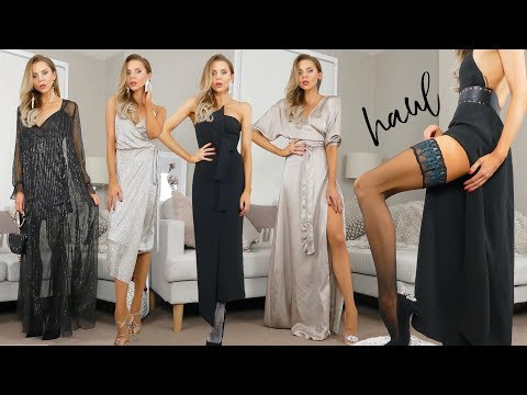 0d5d1fd1307a7 How To Style: Tights For Winter + PARTYWEAR LOOKBOOK // December 2018 -  YouTube
