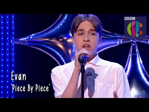 Kelly Clarkson 'Piece by Piece' cover by Evan   CBBC