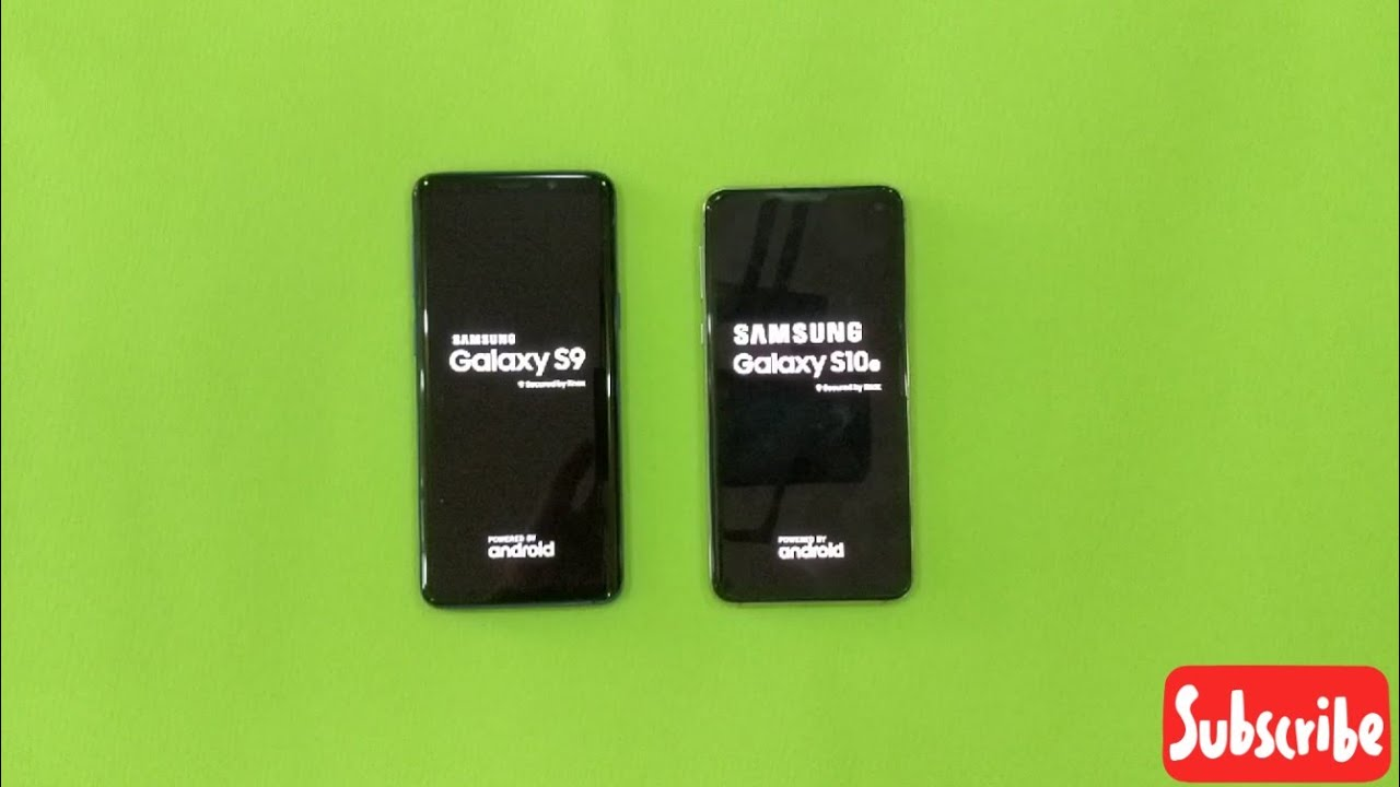 Samsung Galaxy S10e vs Samsung Galaxy S9 | Samsung Updated