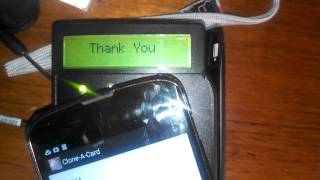 Android app clones a Mastercard NFC card
