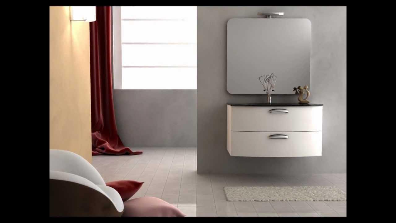 Bagno italia mobili bagno moderni a prezzi di fabbrica arredo bagno youtube - Mobili moderni bagno ...