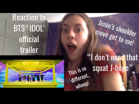 REACTION TO BTS 'IDOL' OFFICIAL TEASER