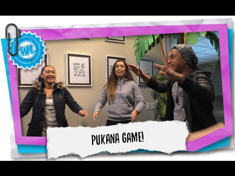 Traditional Maori Game - Pukana! | What Now