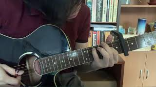 """How to play """"two reverse"""" (Adrianne Lenker) // short guitar clip // explanation in description"""