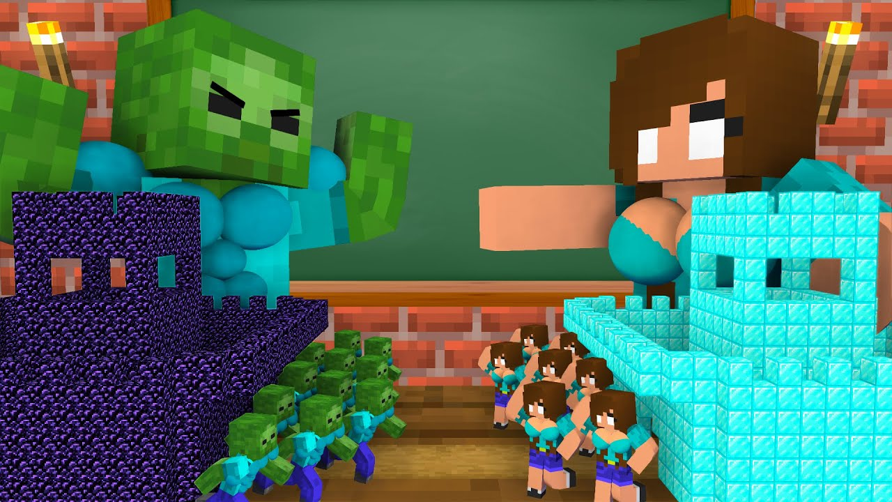 Monster School : SEASON 14 ALL EPISODE - Minecraft Animation