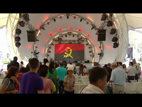 EXPO-2017. NATIONAL DAY OF ANGOLA