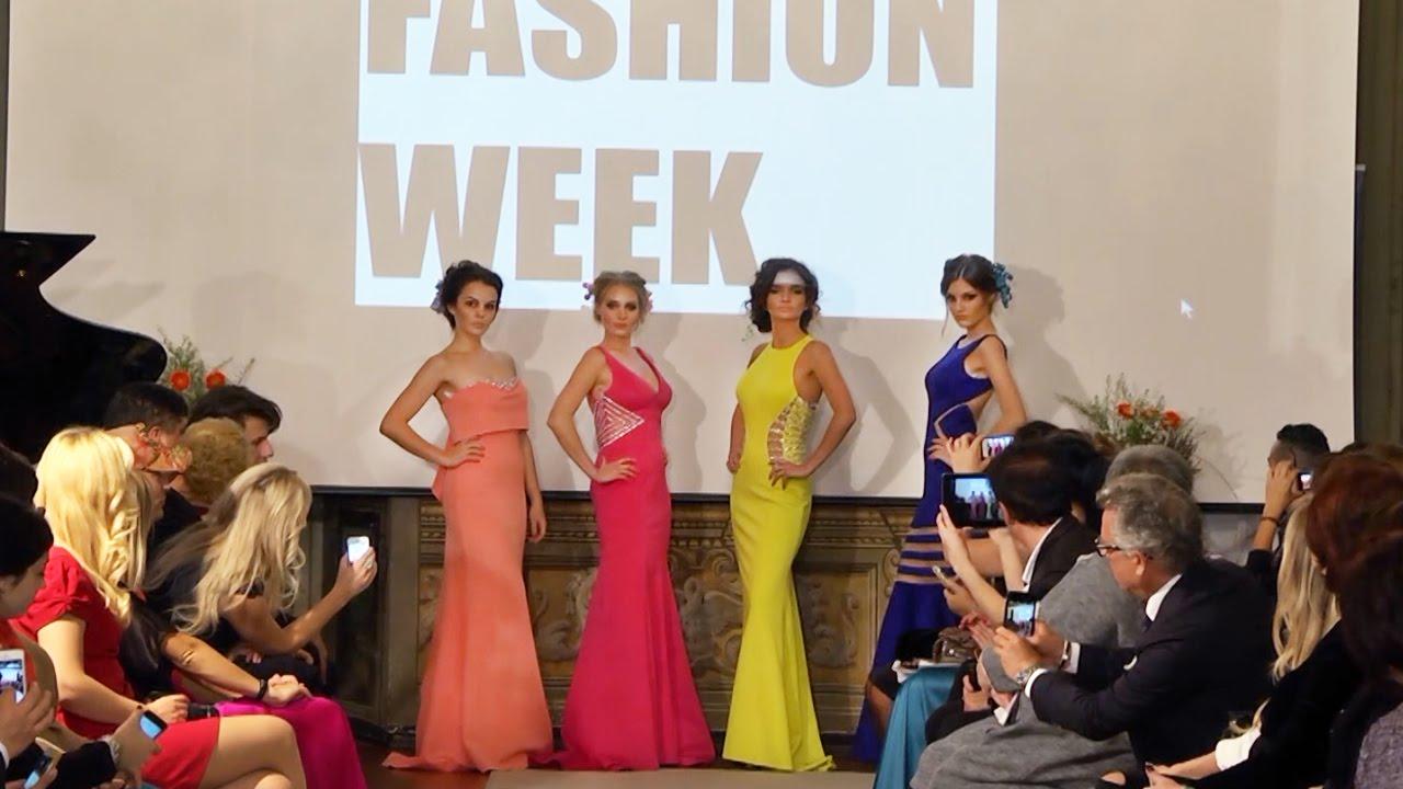 5042a72fc842 ROMA Fashion Week - Terani Couture - Prom 2016 - YouTube