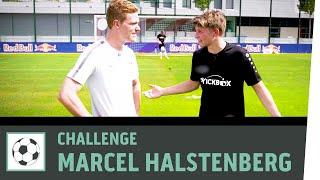 Tor-Ziel-Schießen vs. Marcel Halstenberg   RB Leipzig   Fußball-Challenge   Kickbox