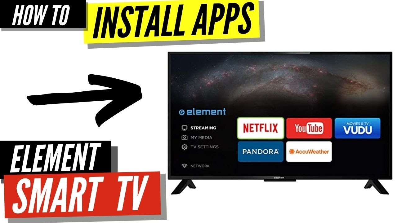 How To Install Apps On A Element Smart Tv Youtube