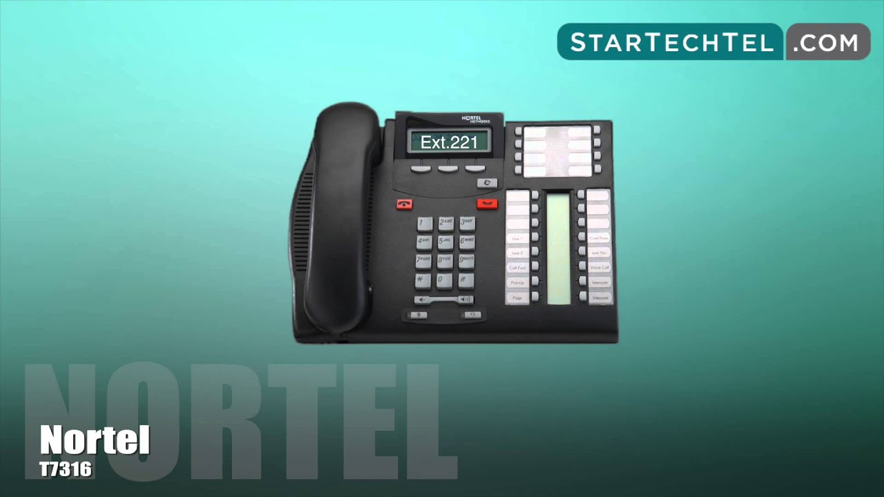 How To Find Your Extension Number On Your Nortel T7316
