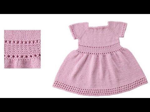 Вязание Детских Платьев Спицами - модели 2019 / Knitting Children's Dresses With Knitting Needles
