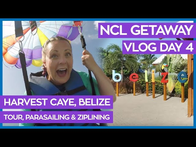 Harvest Caye Island Tour | Ultimate Guide to Harvest Caye | Norwegian Cruise Line Vlog Day 04