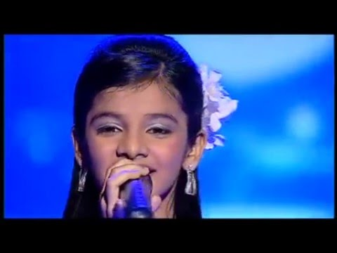 Arya Nandini singing Chhup Chhup sajni