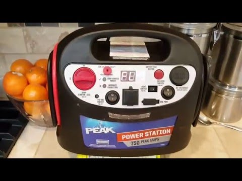 Peak Power Station 750 Review