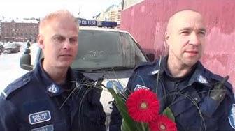 Vuoden tamperelaiset Janne Rauma ja Kari Palonen