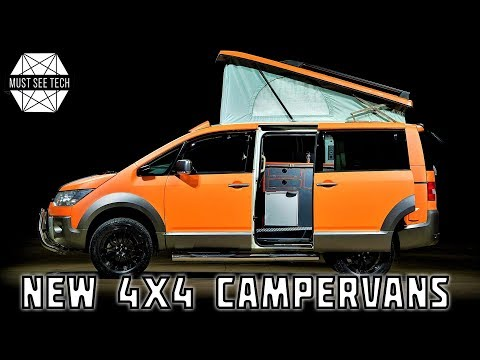 8 New Campervans With 4x4 Drive To Reach Any Off-Road Destination
