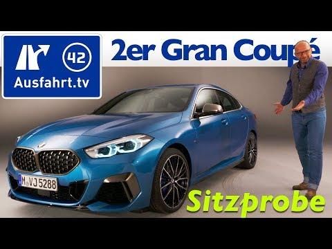 2020 BMW 2er Gran Coupe (F44) M235i 220d Weltpremiere, Sitzprobe, Premiere