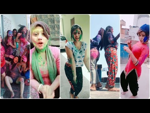बुरा न मानो होली है • Holi Celebration • fun and dance • TIk Tok Holi celebration