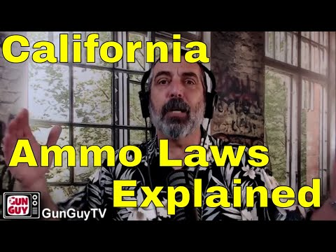 2018 California Ammo Laws Explained - Interview with Sam Paredes