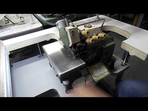 Overlock Sewing Machine Yamato Video 2