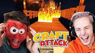 Petrits BRÜCKE brennt komplett ! ER ESKALIERT vollkommen | CRAFT ATTACK 5