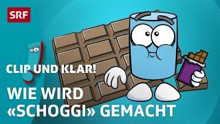 Wie kommt die Schokolade zu uns? | Clip und klar! – Dein Erklärvideo