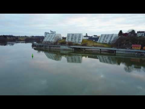 Drone over Sarpsborg